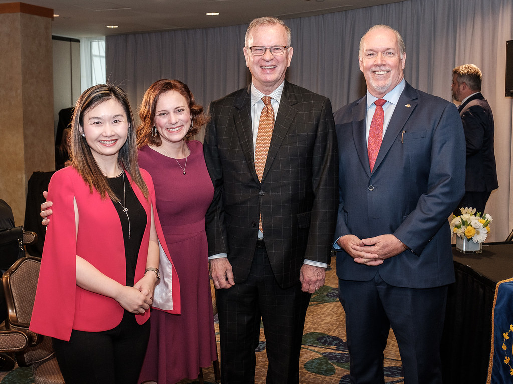 MLA Mungall, MLA Ralston, MLA Kang and Premier Horgan annouce cabinet changes January 2020